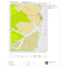 F18d1 Paftası 1/25.000 Ölçekli Vektör Jeoloji Haritası