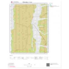 F18d2 Paftası 1/25.000 Ölçekli Vektör Jeoloji Haritası