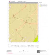 F19a2 Paftası 1/25.000 Ölçekli Vektör Jeoloji Haritası