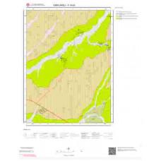 F19a3 Paftası 1/25.000 Ölçekli Vektör Jeoloji Haritası