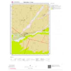 F19a4 Paftası 1/25.000 Ölçekli Vektör Jeoloji Haritası