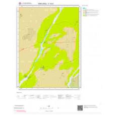 F19b1 Paftası 1/25.000 Ölçekli Vektör Jeoloji Haritası