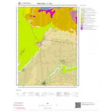 F19b2 Paftası 1/25.000 Ölçekli Vektör Jeoloji Haritası
