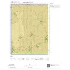 F19b3 Paftası 1/25.000 Ölçekli Vektör Jeoloji Haritası