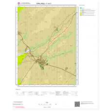 F19c1 Paftası 1/25.000 Ölçekli Vektör Jeoloji Haritası