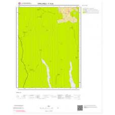 F19d4 Paftası 1/25.000 Ölçekli Vektör Jeoloji Haritası