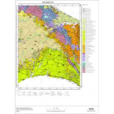 F20 Paftası 1/100.000 Ölçekli Vektör Jeoloji Haritası