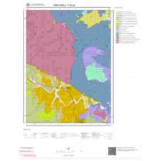 F20a2 Paftası 1/25.000 Ölçekli Vektör Jeoloji Haritası