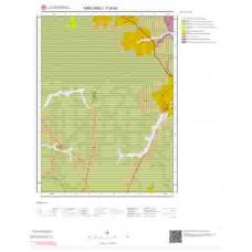F20a3 Paftası 1/25.000 Ölçekli Vektör Jeoloji Haritası