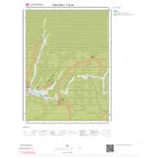 F20a4 Paftası 1/25.000 Ölçekli Vektör Jeoloji Haritası