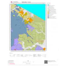 F20b1 Paftası 1/25.000 Ölçekli Vektör Jeoloji Haritası