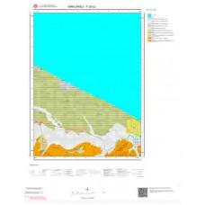 F20b2 Paftası 1/25.000 Ölçekli Vektör Jeoloji Haritası