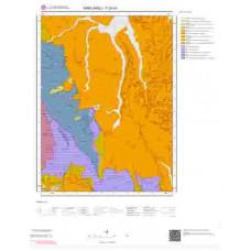 F20b3 Paftası 1/25.000 Ölçekli Vektör Jeoloji Haritası