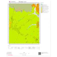 F20c1 Paftası 1/25.000 Ölçekli Vektör Jeoloji Haritası