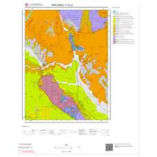 F20c2 Paftası 1/25.000 Ölçekli Vektör Jeoloji Haritası