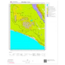 F20c3 Paftası 1/25.000 Ölçekli Vektör Jeoloji Haritası