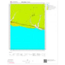 F20c4 Paftası 1/25.000 Ölçekli Vektör Jeoloji Haritası