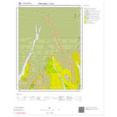F 20-d1 Paftası 1/25.000 ölçekli Jeoloji Haritası