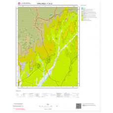 F20d2 Paftası 1/25.000 Ölçekli Vektör Jeoloji Haritası