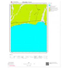 F20d3 Paftası 1/25.000 Ölçekli Vektör Jeoloji Haritası