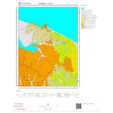 F21a3 Paftası 1/25.000 Ölçekli Vektör Jeoloji Haritası