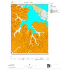 F21a4 Paftası 1/25.000 Ölçekli Vektör Jeoloji Haritası