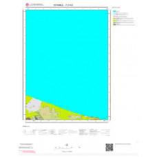 F21b3 Paftası 1/25.000 Ölçekli Vektör Jeoloji Haritası