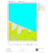 F 21-b4 Paftası 1/25.000 ölçekli Jeoloji Haritası