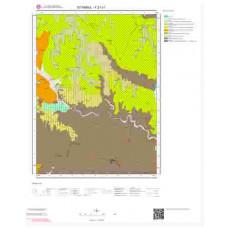 F 21-c1 Paftası 1/25.000 ölçekli Jeoloji Haritası