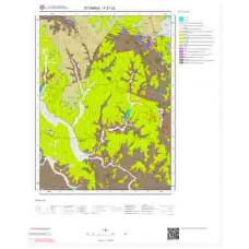 F 21-c2 Paftası 1/25.000 ölçekli Jeoloji Haritası
