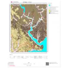 F21c3 Paftası 1/25.000 Ölçekli Vektör Jeoloji Haritası