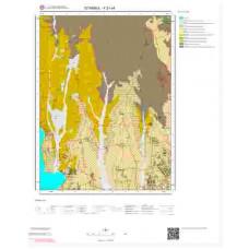 F21c4 Paftası 1/25.000 Ölçekli Vektör Jeoloji Haritası