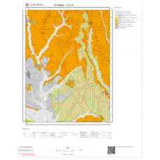 F21d1 Paftası 1/25.000 Ölçekli Vektör Jeoloji Haritası