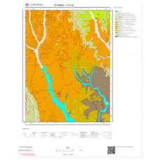 F21d2 Paftası 1/25.000 Ölçekli Vektör Jeoloji Haritası