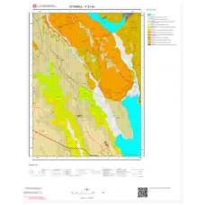 F21d3 Paftası 1/25.000 Ölçekli Vektör Jeoloji Haritası