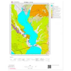F21d4 Paftası 1/25.000 Ölçekli Vektör Jeoloji Haritası