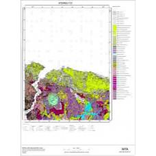 F22 Paftası 1/100.000 Ölçekli Vektör Jeoloji Haritası
