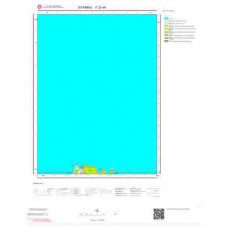 F22a4 Paftası 1/25.000 Ölçekli Vektör Jeoloji Haritası