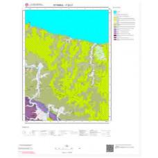 F22c1 Paftası 1/25.000 Ölçekli Vektör Jeoloji Haritası