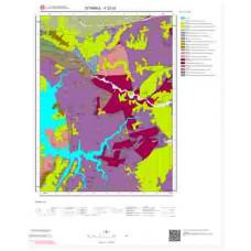 F22c3 Paftası 1/25.000 Ölçekli Vektör Jeoloji Haritası