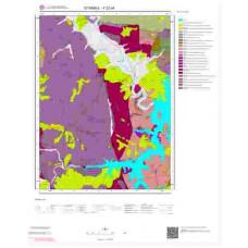 F22c4 Paftası 1/25.000 Ölçekli Vektör Jeoloji Haritası