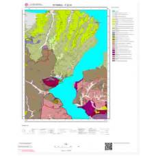 F22d1 Paftası 1/25.000 Ölçekli Vektör Jeoloji Haritası