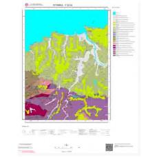 F22d2 Paftası 1/25.000 Ölçekli Vektör Jeoloji Haritası