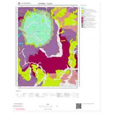 F22d3 Paftası 1/25.000 Ölçekli Vektör Jeoloji Haritası