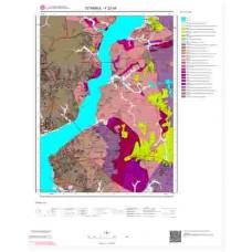 F22d4 Paftası 1/25.000 Ölçekli Vektör Jeoloji Haritası