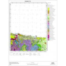 F23 Paftası 1/100.000 Ölçekli Vektör Jeoloji Haritası