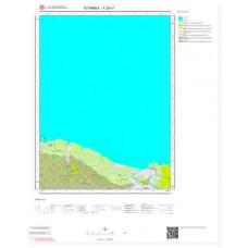 F23c1 Paftası 1/25.000 Ölçekli Vektör Jeoloji Haritası