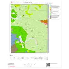 F23c3 Paftası 1/25.000 Ölçekli Vektör Jeoloji Haritası