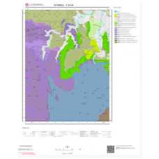 F23c4 Paftası 1/25.000 Ölçekli Vektör Jeoloji Haritası