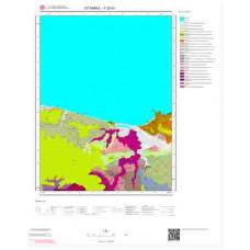 F23d1 Paftası 1/25.000 Ölçekli Vektör Jeoloji Haritası